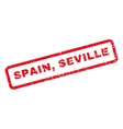 Spain Seville Rubber Stamp vector image vector image