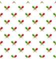 Darts pattern cartoon style vector image vector image