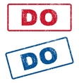 Do Rubber Stamps vector image vector image