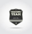 Racing club vector image vector image