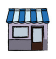 shopping store market commercial concept vector image vector image