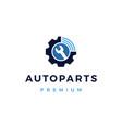 automotive online service logo icon