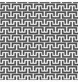 black and white seamless background vector image vector image
