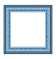frame isolated on white vector image vector image