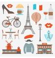 Paris Icon Set