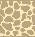 safari seamless pattern background giraffe animal vector image vector image