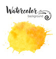 watercolor paint blob watercolor paint vector image vector image