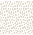 abstract minimalistic seamless pattern animal skin vector image vector image