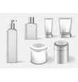 Cosmetics containers packaging