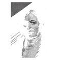 eli whitney vintage vector image vector image