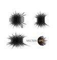 Ink explosion set banner design template digital vector image vector image