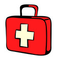 medicine chest icon icon cartoon vector image vector image