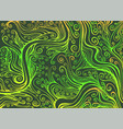 colorful stylized decorative background with curls vector image vector image