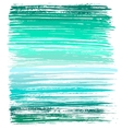 green and blue ink brush strokes vector image