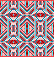 multicolor ethnic tribal seamless pattern aztec vector image vector image