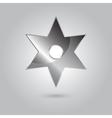 ninja stars ninja and weapon cartoon vector image vector image