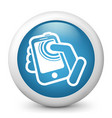 smartphone touch screen vector image vector image