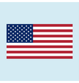 usa flag color vector image vector image