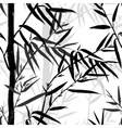 Bamboo leaf background Floral seamless texture vector image vector image
