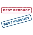 Best Product Rubber Stamps vector image vector image