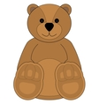 Childrens of a teddy bear vector image vector image