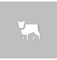 Cow computer symbol vector image