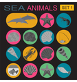 Sea animals icon