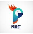 Tropical birds - parrot vector image vector image