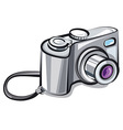 compact camera vector image
