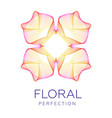 fantastic flower abstract shape with lots of vector image