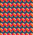 retro zigzag seamless texture vector image vector image
