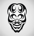 Skull Tribal vector image vector image