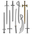 Swords collection vector | Price: 1 Credit (USD $1)