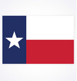 texas tx state flag accurate correct vector image vector image