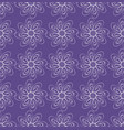 ultraviolet seamless background with monoline vector image vector image