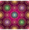 Vintage seamless dark purple gradient pattern vector image vector image