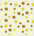 watercolor hand painted polka dot seamless pattern vector image vector image