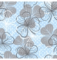 Seamless pattern with clover vector image