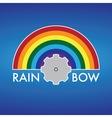Rainbow Company Logo Design vector image
