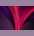 dark purple violet abstract shiny waves background vector image vector image