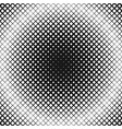 Halftone square pattern background design