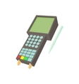 POS terminal icon cartoon style vector image vector image