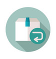 return purchase icon vector image