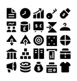 Trade Icons 4 vector image vector image
