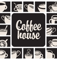 banner for coffee house vector image