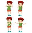 a boy shmoney dance move vector image vector image