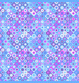 abstract seamless square and circle pattern vector image vector image