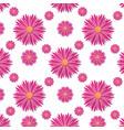 beautiful background seamless flower pattern vector image