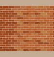 brick wall colorful background vector image