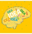 Creative Brain vector image